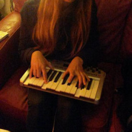 "A little bit of ""backwards piano"""
