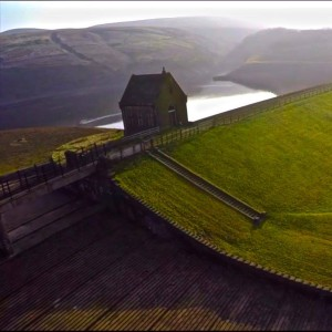 Location Butterley Resevoir and spillway, Marsden, Huddersfield.